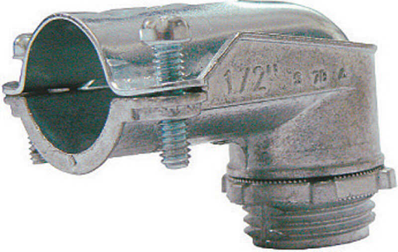Sigma Electric ProConnex  3/4 in. Dia. Die-Cast Zinc  Flex Angle Connector  For FMC/RWFMC 1 pk