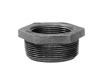 BK Products  1-1/4 in. MPT   x 1 in. Dia. FPT  Galvanized  Malleable Iron  Hex Bushing