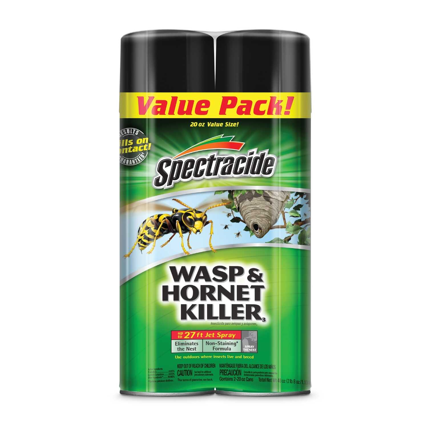 Spectracide  Wasp and Hornet Killer  20 oz.
