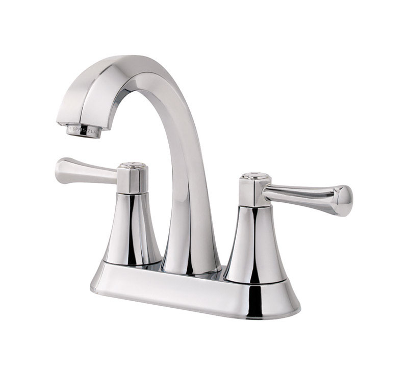 Pfister  Altavista  Two Handle  Lavatory Faucet  4 in. Polished Chrome