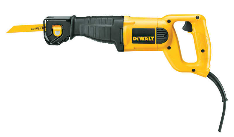 DeWalt  1-1/8 in. Corded  Reciprocating Saw  10 amps 2800 spm