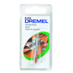 Dremel 1/4 in. Dia. x 3/16 in. L Aluminum Oxide Grinding Stone Cylinder 35000 rpm 1 pc.