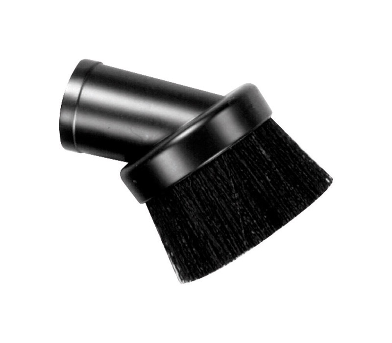 Craftsman  3  L x 4 in. W x 1-1/4 in. Dia. Dusting Brush  Black  1 pk