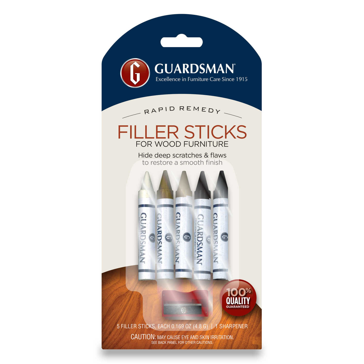 Guardsman  Multicolored  Wood Filler  5 pk