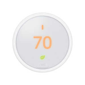 Nest  Thermostat E  Built In WiFi Heating and Cooling  Lever  Smart Thermostat