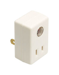Amertac  AmerTac  White  Photoelectric  Plug In Light Control  1 pk