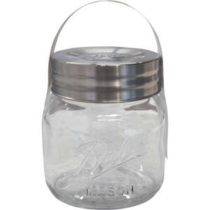 Ball  Super Wide Mouth  Canning Jar  1/2 gal.