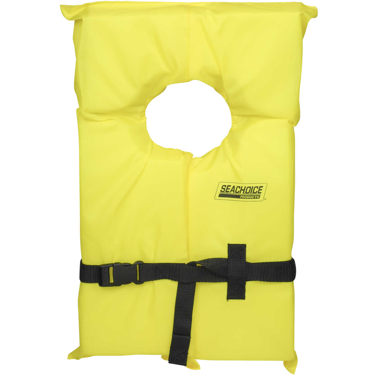 Seachoice  Adult  Yellow  Life Jacket