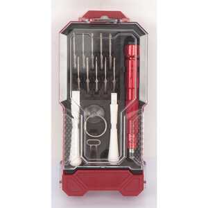 Craftsman  15 pc. Precision Screwdriver Set  Carbon Steel  8 in.