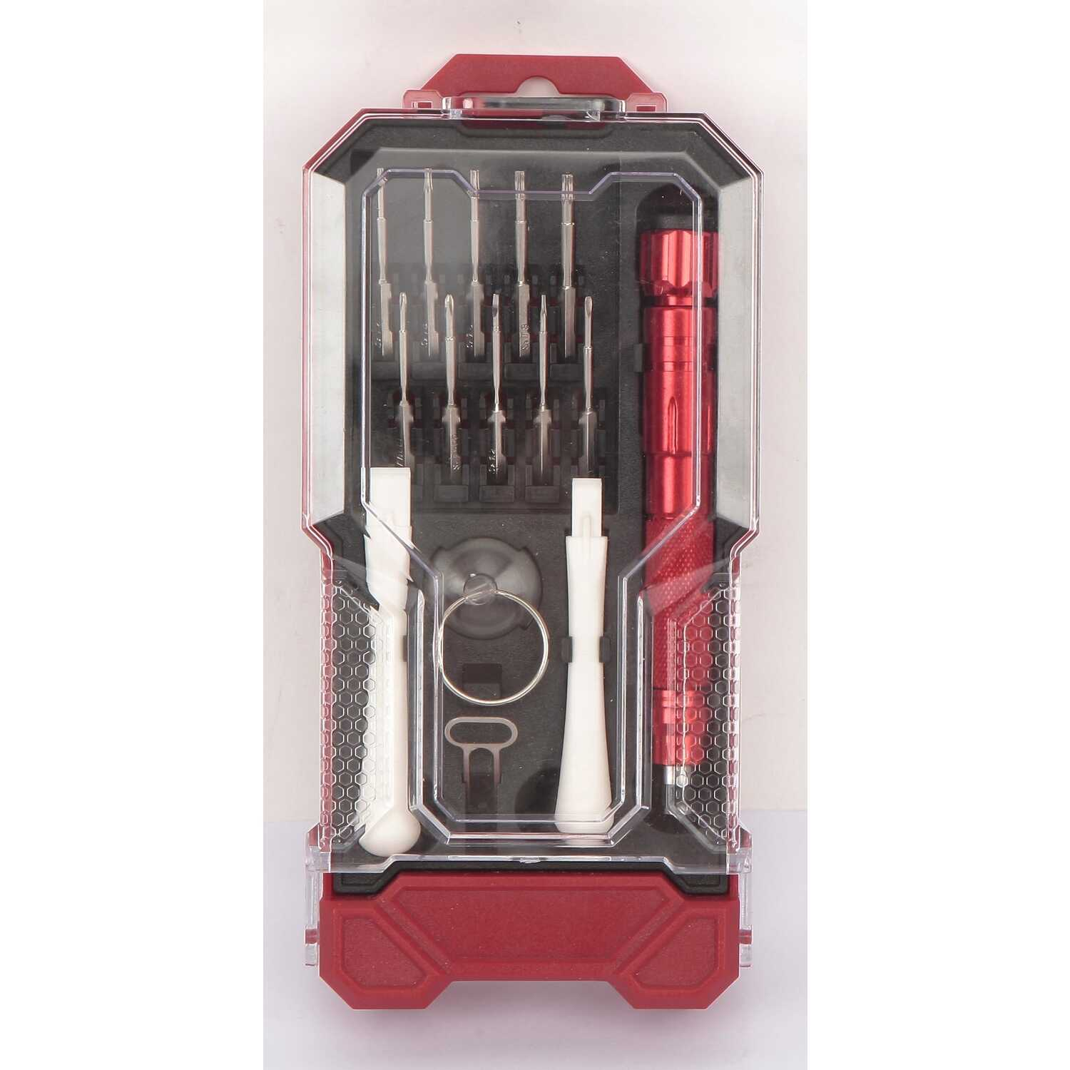 Craftsman  15 pc. Precision Screwdriver Set  8 in. Carbon Steel