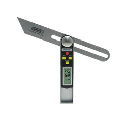 General Tools 8 in. L Digital Sliding T-Bevel and Protractor 1 pc.