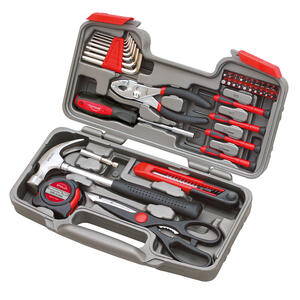 Apollo  Tool Kit  Red  39 pc.