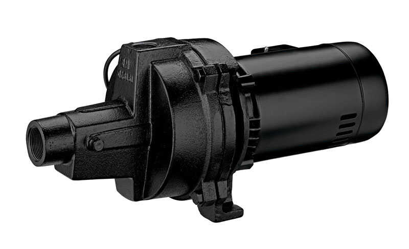 Ace  Cast Iron  Shallow Well Jet Pump  1 hp 24  230 volts