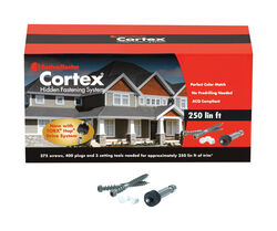 FastenMaster  Cortex  No. 20   x 2 in. L Torx Ttap  Star Head Deck Screws and Plugs Kit  1 pk