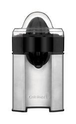 Cuisinart  Silver/Black  Stainless Steel  8 oz. Citrus Juicer