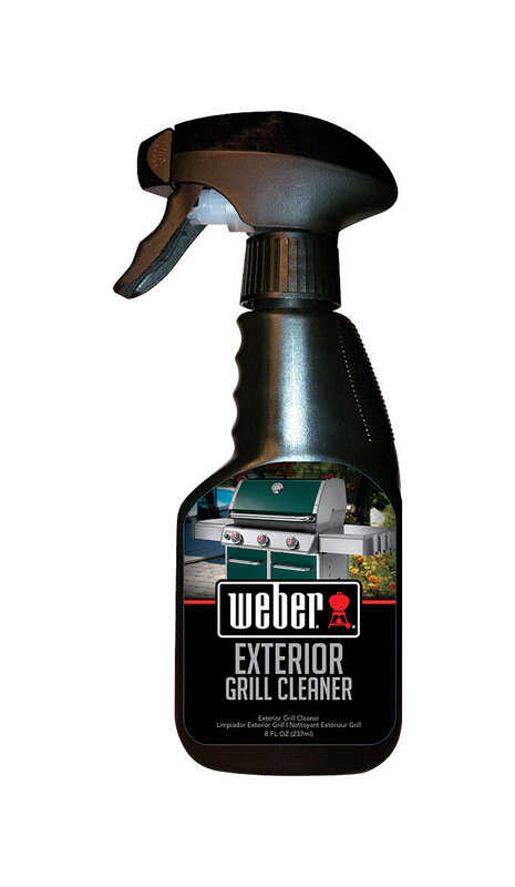Weber  BBQ Grill Cleaner  8oz  Liquid