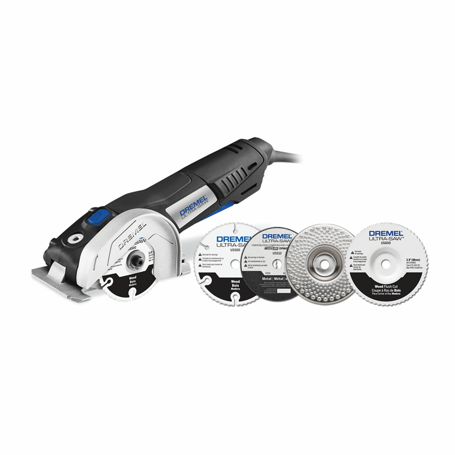 Dremel  Ultra-Saw  3-1/4 in. 120 volt 7.5 amps 120 volt Kit Circular Saw  13000 rpm Corded
