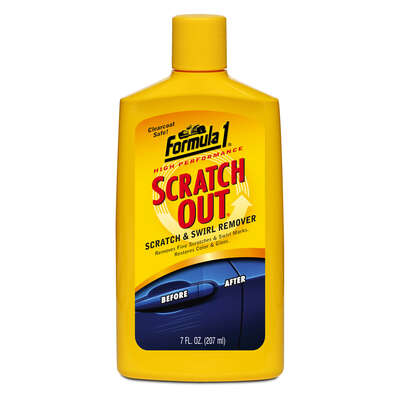 Formula 1  Scratch Out  Liquid  Scratch Remover  7 oz. For Hand