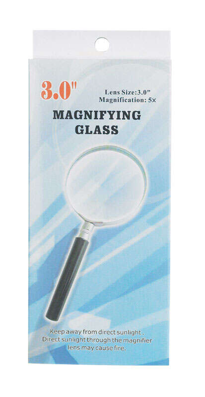 Diamond Visions  Round  5 Times Magnifier  3 in. W