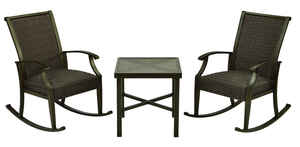 Living Accents  3 pc. Rockland  Patio Set