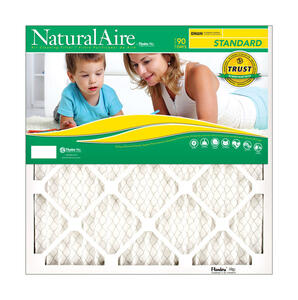 AAF Flanders  NaturalAire  18 in. W x 24 in. H x 1 in. D Polyester  8 MERV Pleated Air Filter