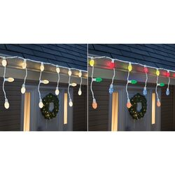 Sylvania  LED  Multi-color  20 count Icicle  Christmas Lights  6 ft.