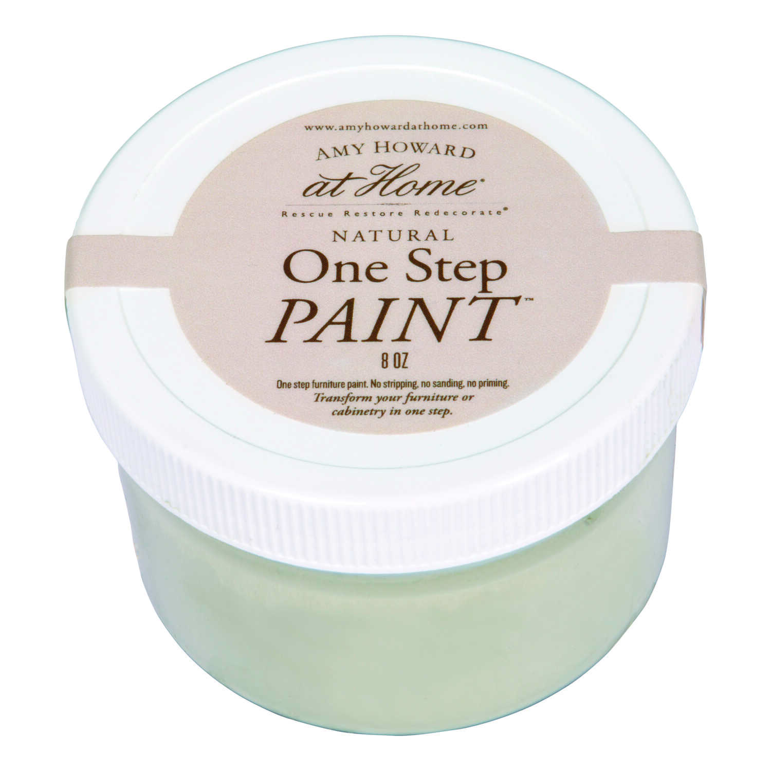 Amy Howard at Home  Flat Chalky Finish  Orange  8 oz. One Step Paint
