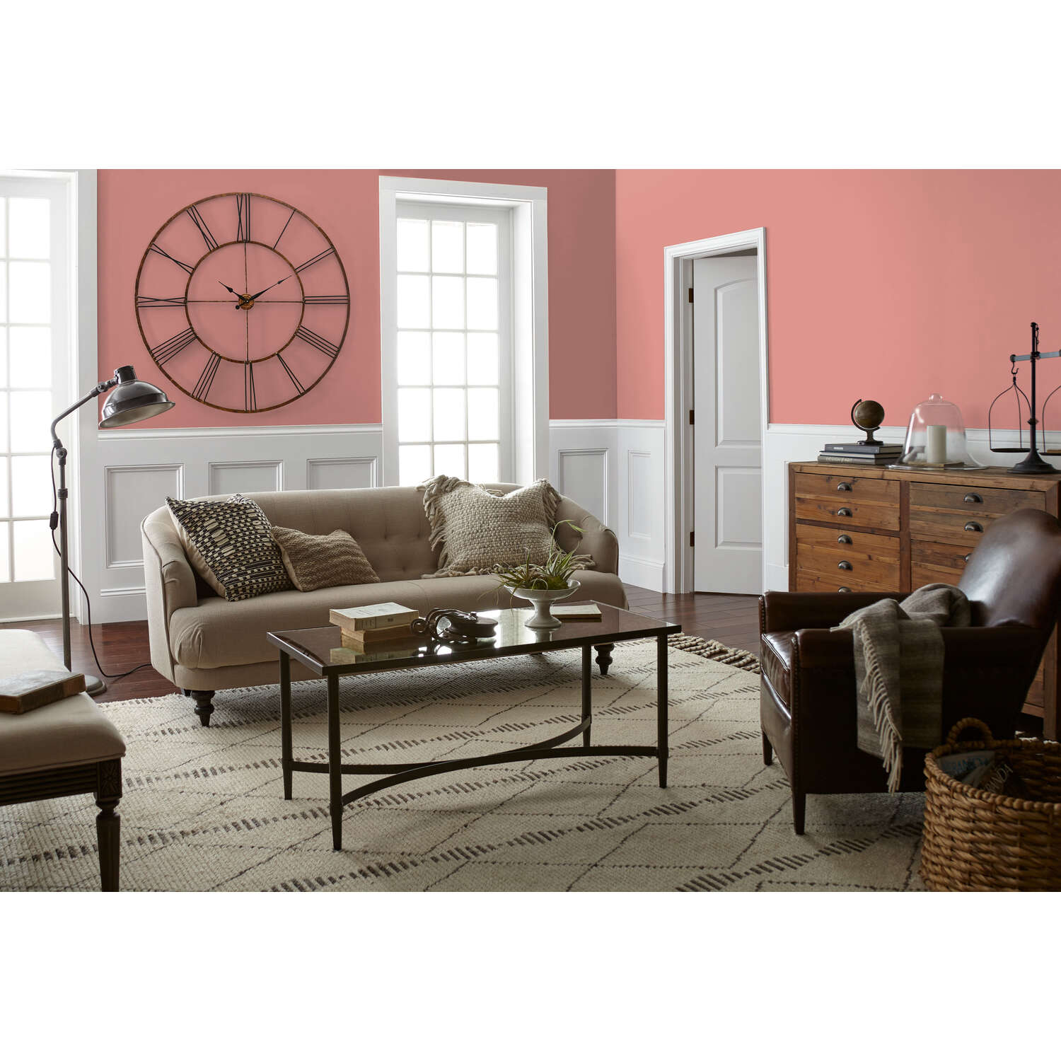 Magnolia Home  by Joanna Gaines  Pink Lemonade  Acrylic  Paint  1 gal. Matte
