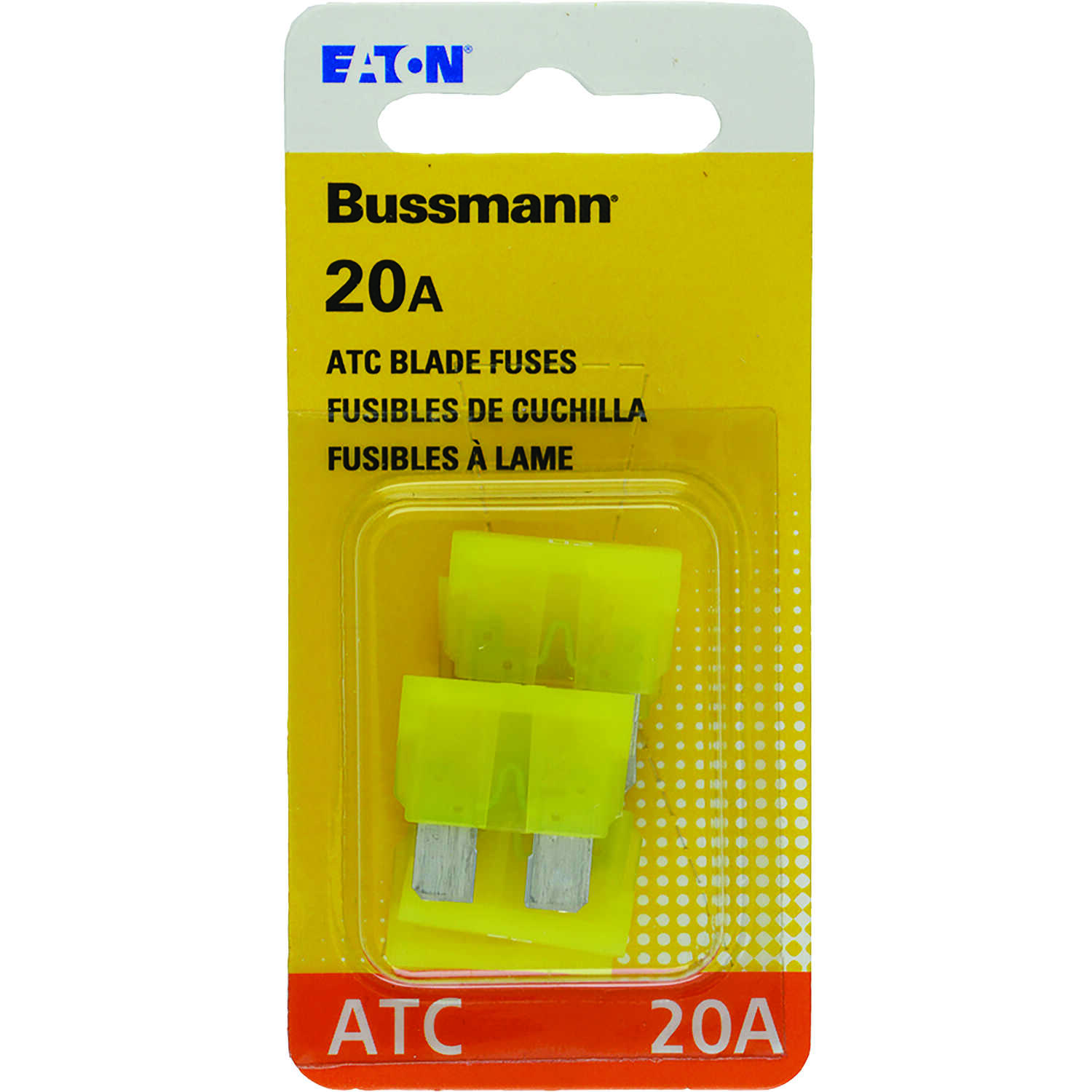 Bussmann  20 amps ATC  Mini Automotive Fuse  5 pk