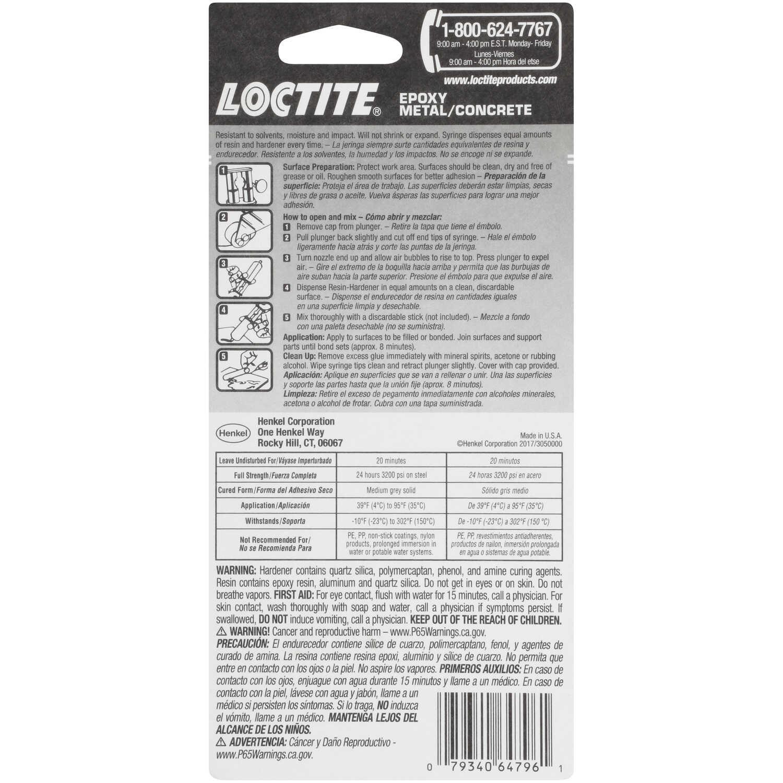 Loctite Metal/Concrete High Strength Liquid Epoxy 0 85 oz