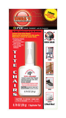 Wonderlok 'Em Tite Chairs Super Strength Glue 0.7 oz.