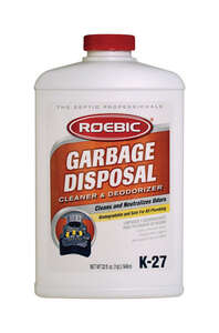 Roebic  K-27  Liquid  Garbage Disposal Cleaner  32 oz.