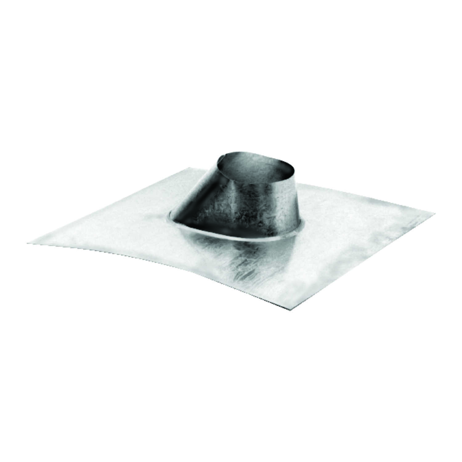 DuraVent  4-1/4 in. H x 16 in. W x 17 in. L Silver  Galvanized Steel  Square  Roof Flashing