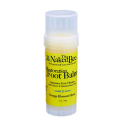 The Naked Bee  Restoration Foot Balm  2 oz. 1 pk