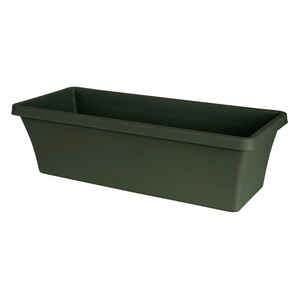 Bloem  Terrabox  5.2 in. H Thyme Green  Resin  Traditional  Planter