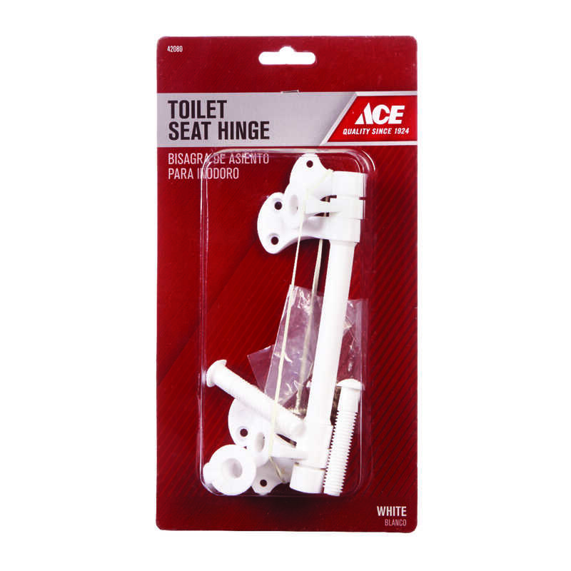 Ace  Toilet Seat Hinge  White