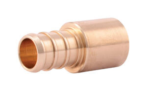 SharkBite  EvoPEX  1/2 in. MPT   x 1/2 in. Dia. MPT  Male Adapter