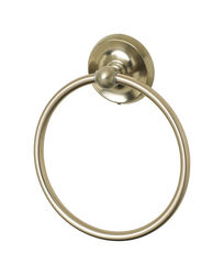 OakBrook  Brushed Nickel  Towel Ring  Zinc