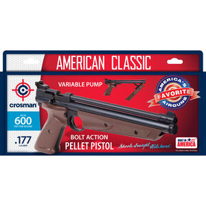 Crosman  0.177  600  Air Pistol  1 pk