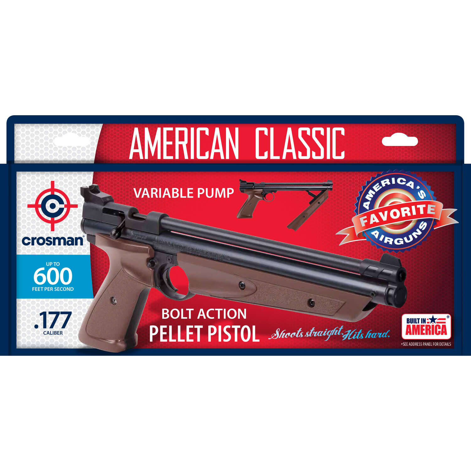 Crosman  0.177  600  Air Pistol