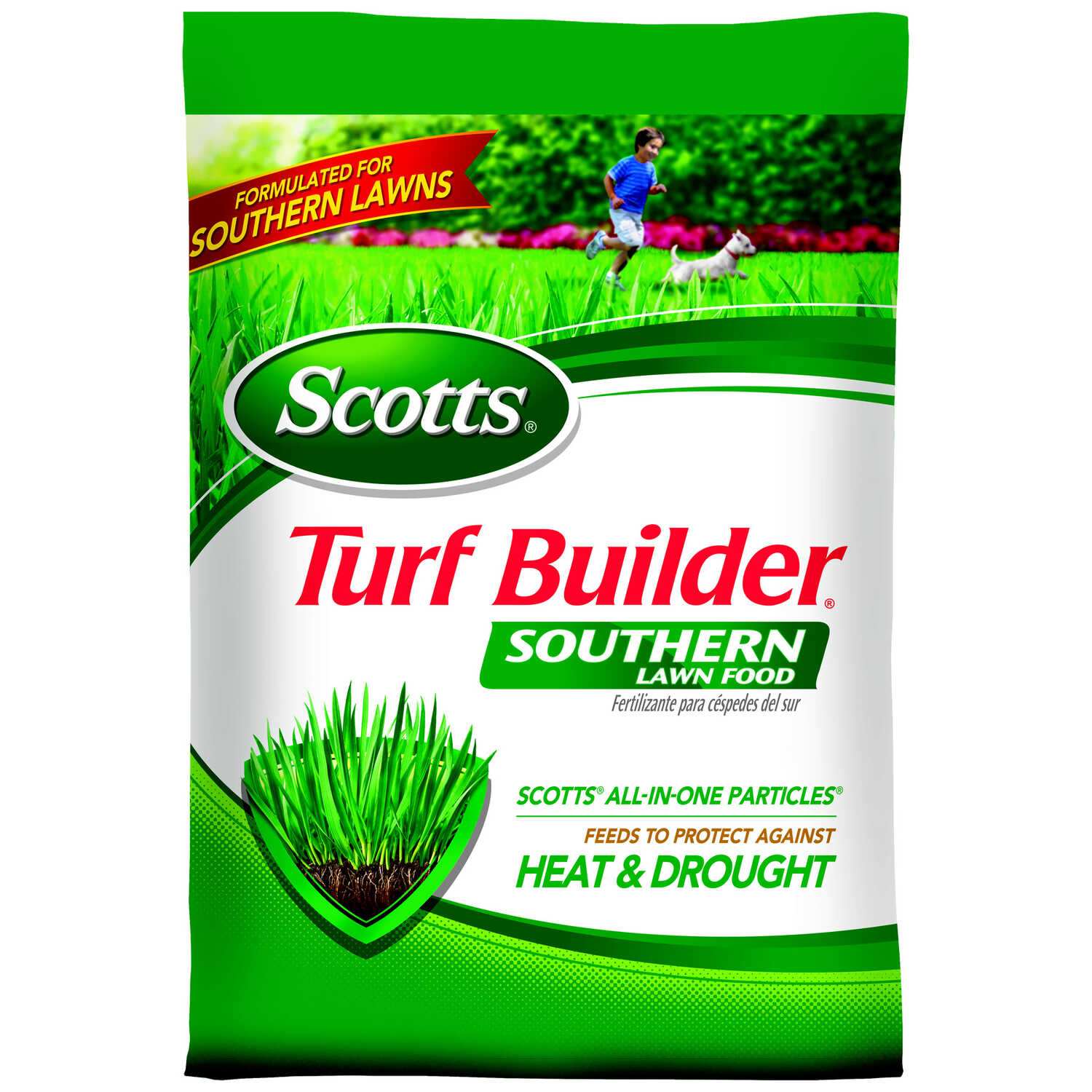 Scotts  Turf Builder  32-0-10  Lawn Fertilizer  For Southern 14.06 lb.
