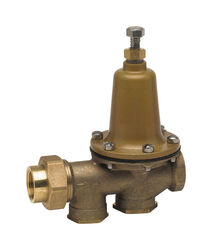 Watts  3/4 in. FNPT  Brass  Pressure Reducing Valve  3/4 in. Double Union  1 pc.