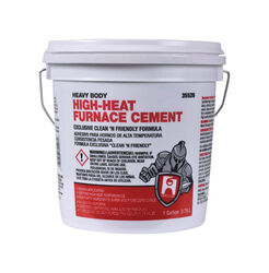 Hercules Oatey White High Heat Furnace Cement For Furnace 1 gal.