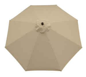 Sunline  9 ft. Natural  Market Umbrella