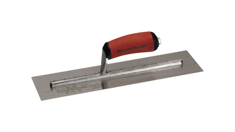 Marshalltown  4 in. W Spring Steel  Finishing  Trowel