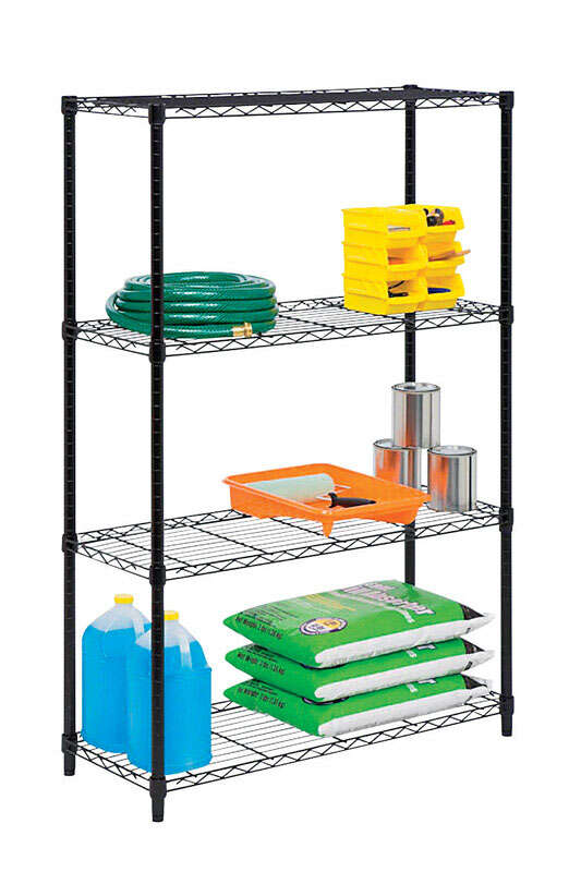 Honey Can Do  54 in. H x 36 in. W x 14 in. D Steel  Shelving Unit