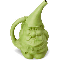 Novelty Green 1.5 gal. Resin Gnute the Gnome Watering Can