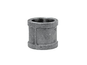 Anvil  1 in. FPT   x 1 in. Dia. FPT  Galvanized  Malleable Iron  Coupling