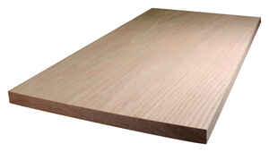 Alexandria Moulding  12 in. W x 4 ft. L x 1 in.  Oak  Board