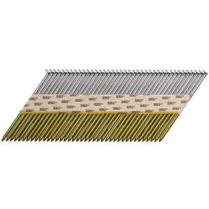 Senco  ProHead  34 deg. 16 Ga. Smooth Shank  Angled Strip  Framing Nails  3-1/4 in. L x 0.13 in. Dia